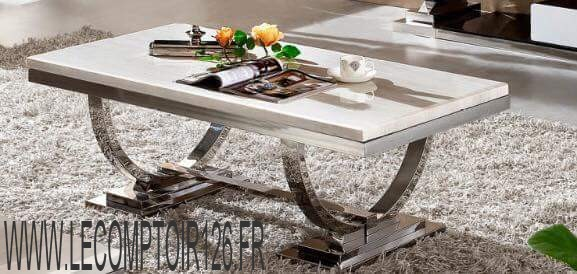 table basse pied arrondi le comptoir 126. Black Bedroom Furniture Sets. Home Design Ideas