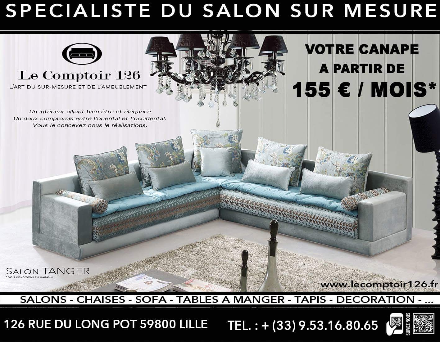 Le Comptoir 126 Lille salon – le comptoir 126